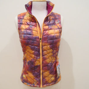 The North Face Geo Floral Print Thermoball Vest XS
